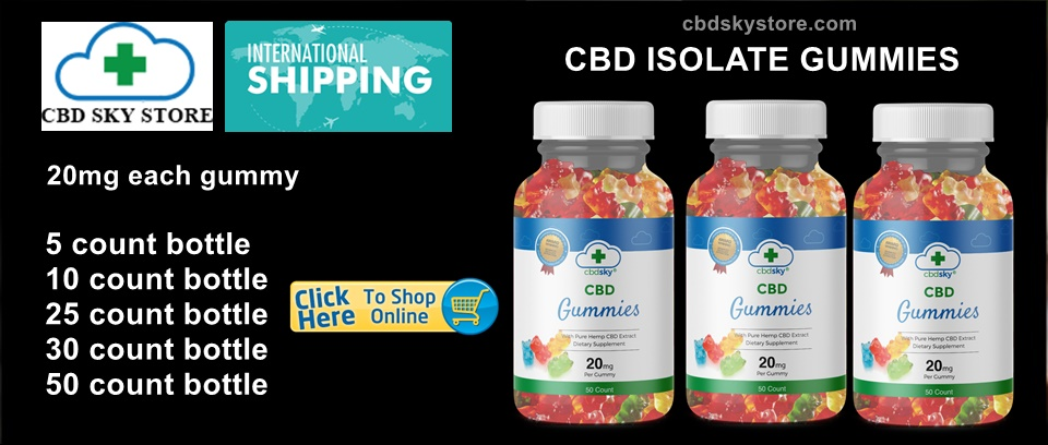 CBD SKY GUMMY BEARS