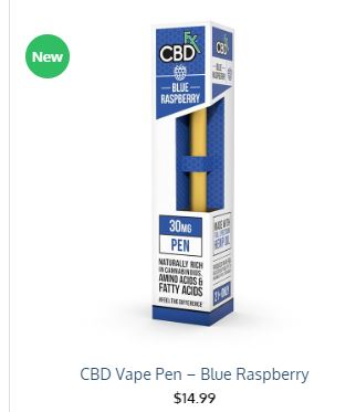 CBD VAPE PEN BLUE RASPERRY