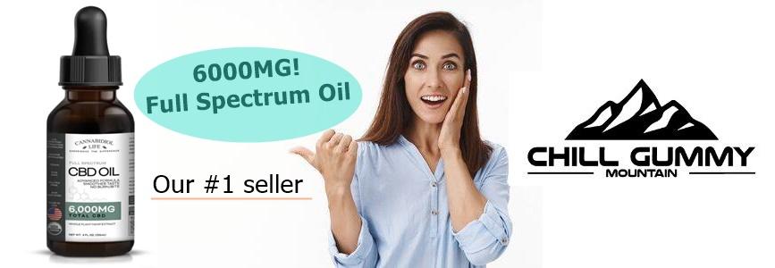 6000mg cbd full spectrum oil